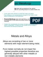 Basic Metallurgy