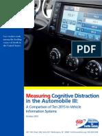 La distrazione cognitiva, gli effetti mortali della tecnologia che distrae dalla guida