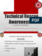 Technical Rescue Awareness 2