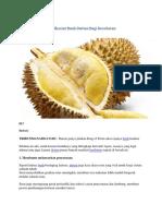 7 Durian Khasiat