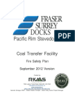 Coal Transfer Facility Fire Safety Plan