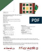 1003 Holidayplcmtnapkin Pattern