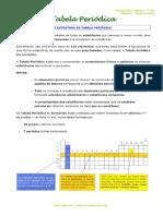 3.2 - Materiais - Tabela Periódica - Informação