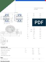 Y-bearing Plummer Block Units-SYWK 50 LTA