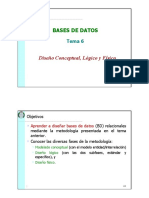 8-Diseño Conceptual, Lógico y Físico