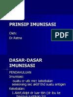 Prinsip Imunisasi
