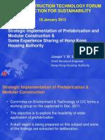 TF 18-1-2013 Presentation - Ir Joseph MAK