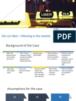 Ola vs Uber Case Presentation - Group 6