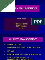 Quality Management 2013