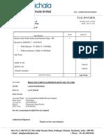 Invoice SAF-1718-020 Jamna July 2017