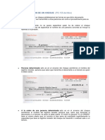 Apuntes de Cheque