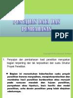 Penyajian Data & Pembahasan
