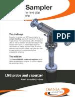 LNG Sampler Probe