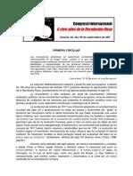 CONGRESO A CIEN AÑOS DE LA REVOLUCION RUSA - PRIMERA CIRCULAR.docx