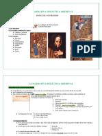 La Narrativa Medieval. Tema 15 y 16