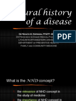 Natural History of the Disease
