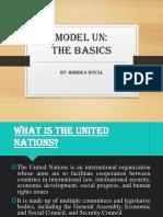 Model UN - The Basics