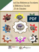 Cartaz MIBE- Ligando Culturas e Comunidades