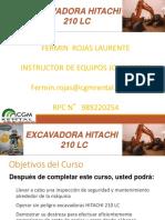 Excavadoras Hitachi 210