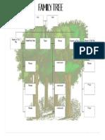 Family Tree to Print