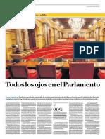 Todos Los Ojos en El Parlamento