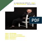 Programa Electoral Soriano Director 2017