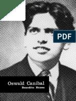 NUNES, Benedito. Oswald Canibal