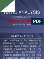 Financial Ratio Analysis Gp1 by Professor & Lawyer   Puttu Guru Prasad