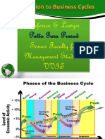 Business Cycles Gp1 by Professor & Lawyer Puttu Guru Prasad