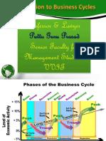 Business Cycles Gp1 by Professor & Lawyer Puttu Guru Prasad