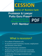 General Theories of Business Cycle Gp1 by Professor & Lawyer   Puttu Guru Prasad