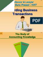 Accounts in Detail Gp1 by  Professor & Lawyer   Puttu Guru Prasad