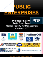 Public Enterprises Gp1  by Professor & Lawyer Puttu Guru Prasad