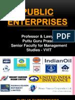 Public Enterprises Gp1  by Professor & Lawyer Puttu Guru Prasad