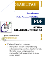 Matematika & Statisik = (P3) Probabilitas