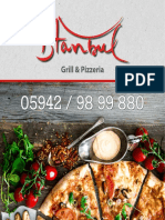 Pizzeria Istanbul Uelsen - Speisekarte