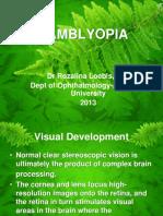 Mata - Amblyopia