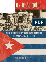 (Africa and the Diaspora) Christine Hatzky-Cubans in Angola_ South-South Cooperation and Transfer of Knowledge, 1976–1991-University of Wisconsin Press (2015)