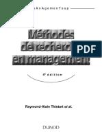 Méthodes de Recherche en Management by Imihi