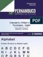 Alphabet Spelling Original