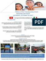 Flyer (inglese), in cammino per la pace 2017 (official)