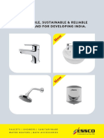 Essco_catalogue With Sanitaryware and Hws