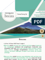 Mitigasi Bencana Gunung API