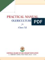 Olericulture I PM XI