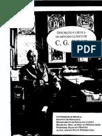 Antonio Lima Descrição e Crítica Do Método Clínico de Jung