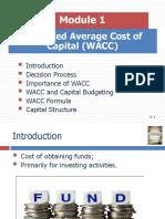 WACC Module 1
