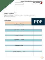 Template Contoh Panduan p&p ekonomi