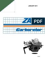 Zama 2011 Service Manual