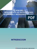 DS 66 Modificacion Ley Gas