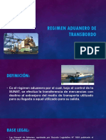 Regimen Aduanero de Transbordo
